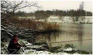 Полудонка  для  зимней ловли