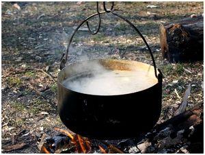 Посуда для отдыха на природе