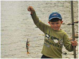 Рыбка мутной  и холодной воды