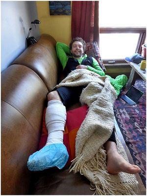 Шотландский скалолаз выжил после встречи с гризли в Канаде