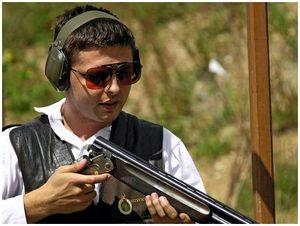 Со спортивным ружьем на охоте