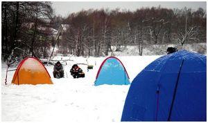 Если к лунке «привязан»… палаткой