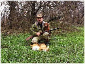 Охота с норными на Кубани