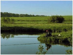 Особенности ловли  на прудах  и озёрах весной
