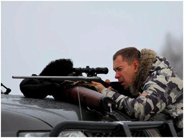Винтовка на охоте