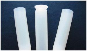Цельная  пластмассовая  гильза  без металлического основания