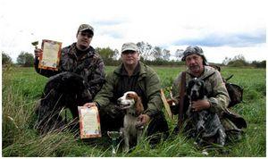 Охота – дело товарищеское