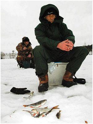 Особенности ловли со льда в разных условиях