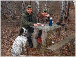 Проблемы юных охотников