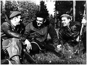 На охоте с Юрием Гагариным