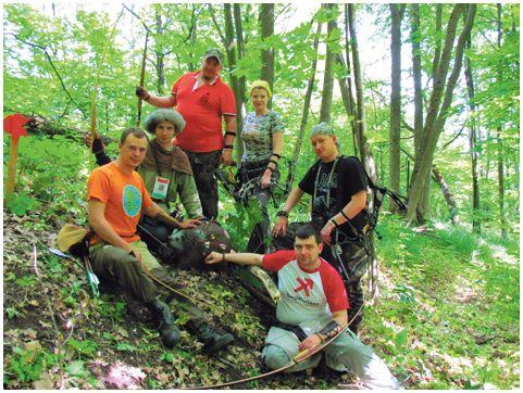 «Охота» с луком на Белгородской земле