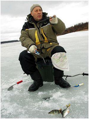 Первая рыба зимы