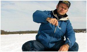 Принадлежности зимнего  рыболова
