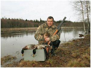 Результативность охоты с подсадной