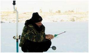 Зимняя ловля леща  без насадки