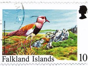 Чибисы на почтовых марках