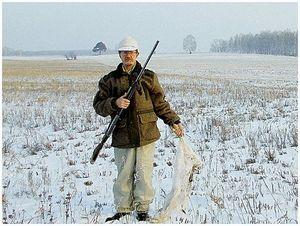 Из опыта охоты на русаков