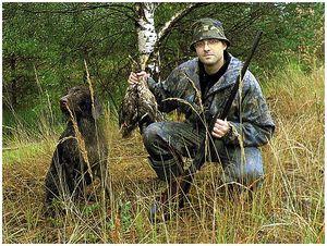 Охотники, так будем жить дружно?