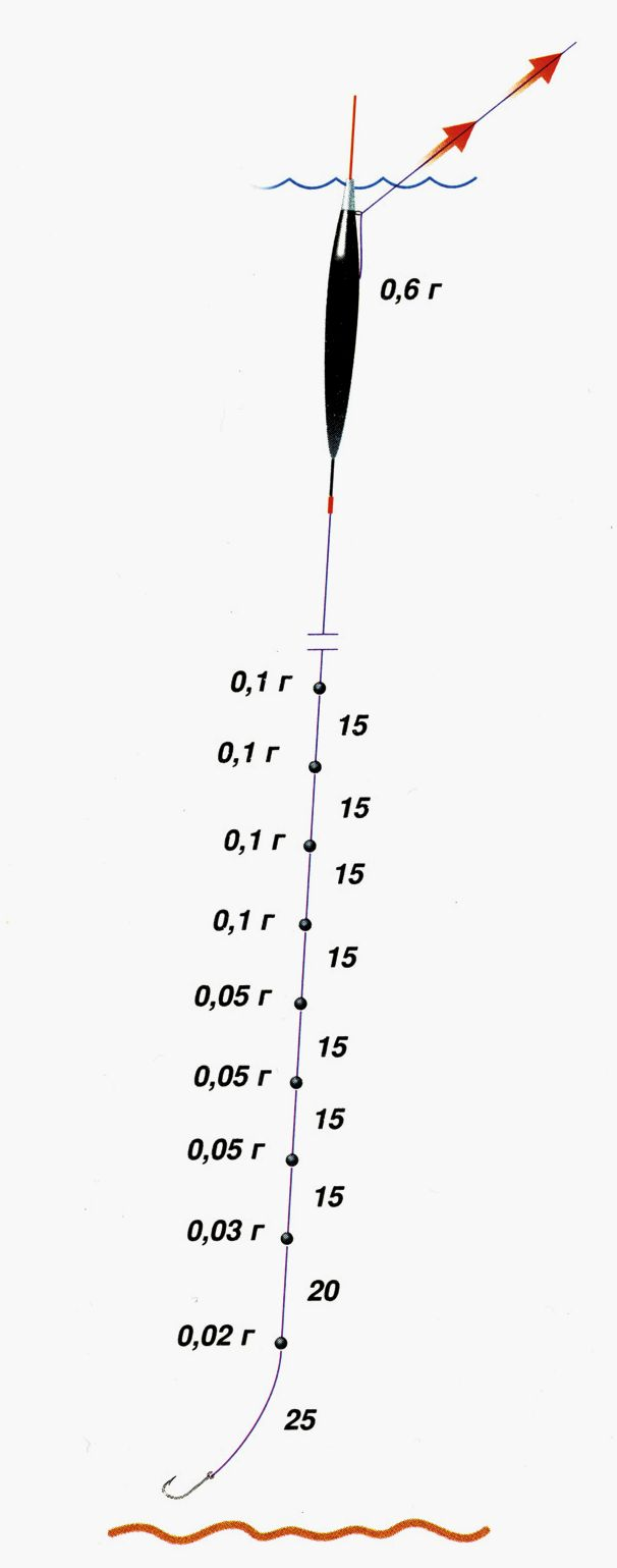 Поплавок на плотву: весной, на течении, вес - что нужно знать