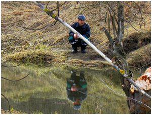 Поиск весенней рыбы