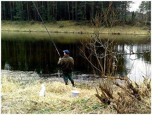 Весенняя болонская рыбалка