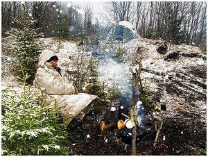 Как выжить зимой влесу