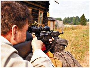 Почистил ружье —  нарушил закон?