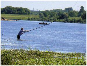 Рыбалка при сильном ветре