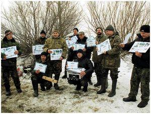 Состязания  подсадных уток  в Нижнем Новгороде