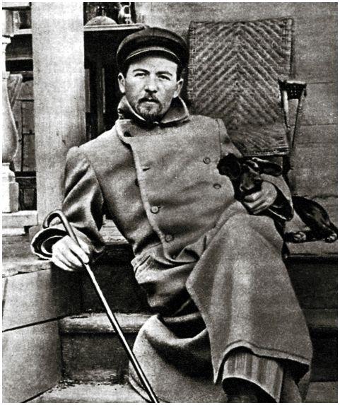 А.П. Чехов—  великий писатель истрастный рыболов