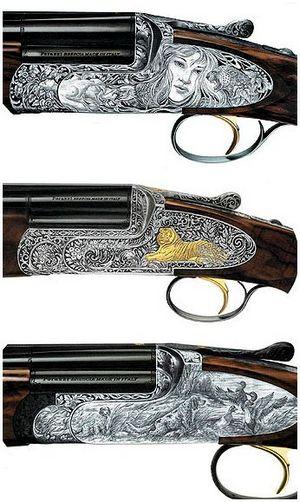 Оружейный художник Лоренцо Гамба