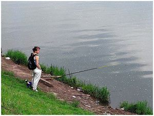 Разговор с рыбачкой