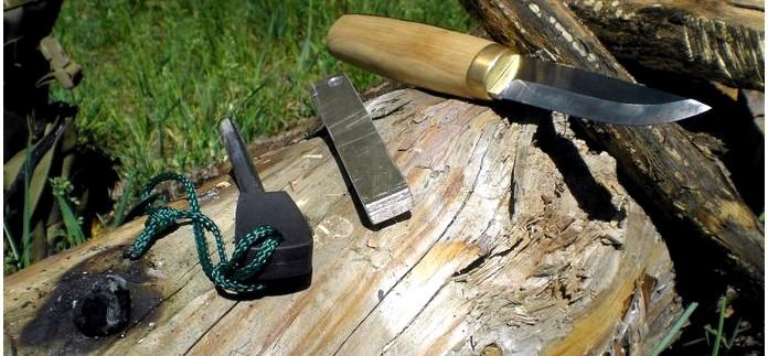 Авторский нож Фин от ножевого мастера Коломиец Вадима Анатольевича, описание, обзор и тест в полевых условиях.