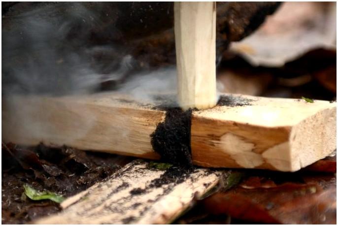 Техника пожарного строительства: как зажечь огонь в пустыне