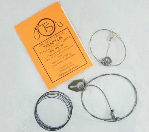 Готовые проволочные ловушки, силки и компоненты для их изготовления в носимом наборе или комплекте выживания, НАЗ.