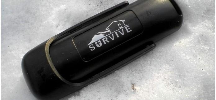 Однорукое огниво Survive, копия огнива BlastMatch Fire Starter от Ultimate Survival Technologies, обзор, тест и впечатления.