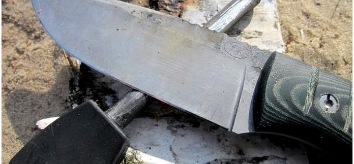 Авторский нож Памятный, описание, обзор, тест, впечатления и выводы от конструкции ножа и его ножен.