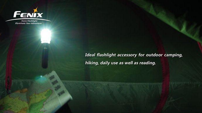 Фильтр-насадка для фонарей Fenix Camping Lampshade под модели Fenix LD10, LD20, PD10, PD20, PD30, HP10, HL20, обзор и применение в полевых условиях.