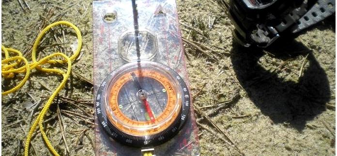 Проверка исправности компаса в полевых условиях и определение местного времени по компасу в отсутствии часов.