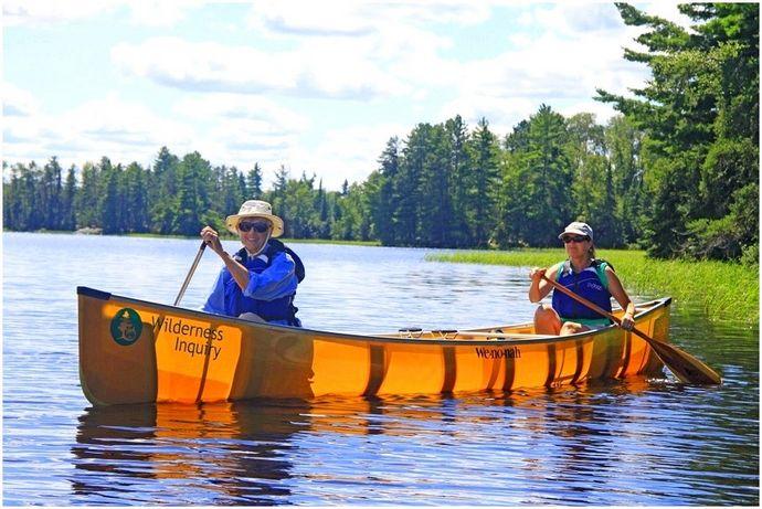 Как плыть на каноэ: пробраться в воду