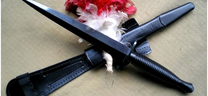 Кинжал Sheffield Fairbairn Sykes Dagger для британских коммандос и английских частей специального назначения, обзор.