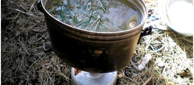 Обеззараживание и дезинфекция воды, кипячение и химический способ обеззараживания воды в полевых условиях.