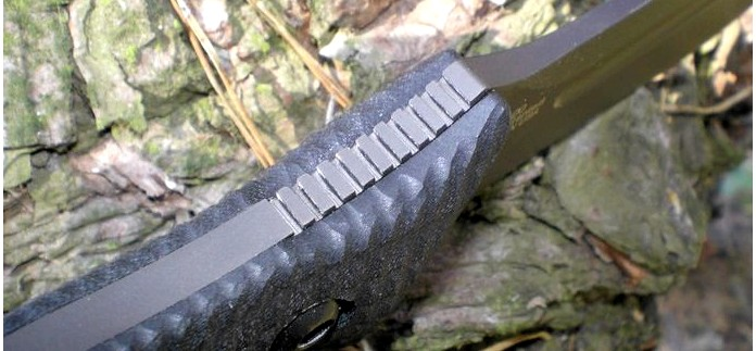 Тактический нож Zero Tolerance ZT0100 G-10 Matte Black, Fixed Blade, Plain Edge, описание, характеристики, обзор.