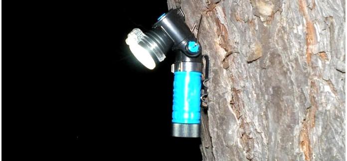 Г-образный фонарь Fenix MC10 ANGLELIGHT, обзор, впечатления и недостатки фонаря.