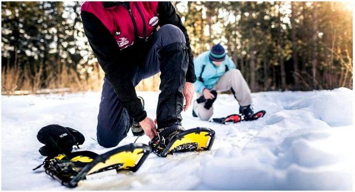 Как снегоступы: гулять по снегу