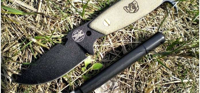 Нож для выживания DPx H.E.S.T. от RAT Cutlery, обзор, тесты, использование ножен ножа для хранения набора выживания.