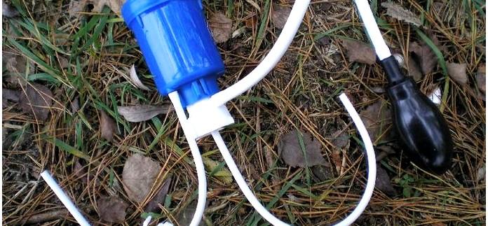 Походный фильтр для очистки воды Аквафор Универсал, применение для очистки воды в полевых условиях, обзор.