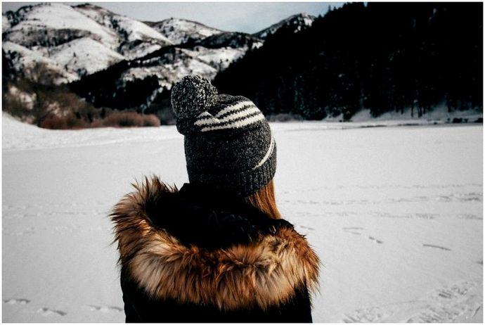 Зимние прогулки: пятнадцать футов чистого белого снега