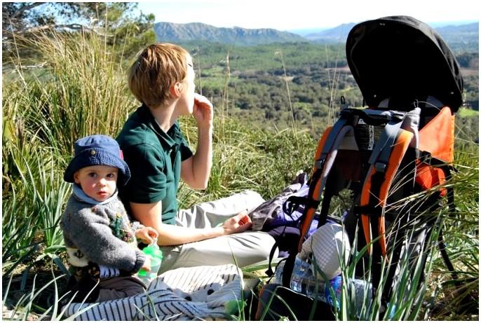 Поход с детьми: Раннее представление природы