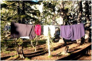 Как быстро сушить одежду: оставаться в тепле и сухости в пустыне